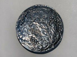 "WILTON ARMETAL RWP PEWTER GRAPE LEAVES VINES TUSCANY FRUIT PLATE 10.5"" R... - $20.66"