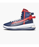 Nike Air Max 720 Saturn Blue / Red Basketball Trainer - $233.95