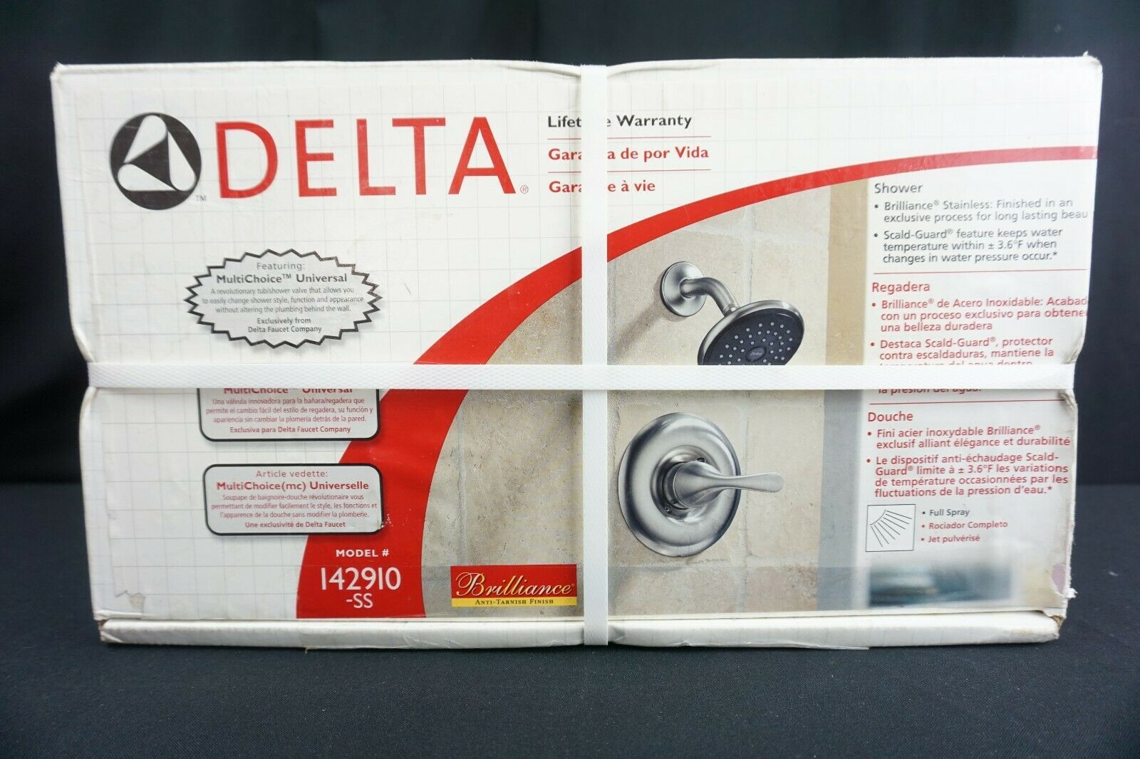 Primary image for DELTA CLASSIC Shower Only (Brushed Nickel Finish) Model 142910-SS