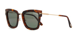 Wholasale Of 10 Tom Ford Lara-02 Sunglasses TF0573 55A Squared Havana/Gold New - $1,480.05