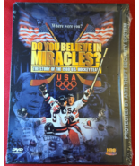 DO YOU BELIEVE IN MIRACLES?- DVD- HOCKEY- OLYMPICS- NEW- FREE SHIPPING - $9.99