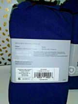 Made By Design Solid Easy Care Pillowcase Set (King) Blue Amethyst  NEW image 3