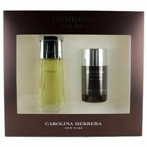 Herrera by Carolina Herrera for Men Set - 3.4oz EDT Spray + 2.1oz Deo Stick - $64.99