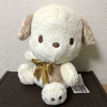 Pochacco Milky White BIG Plush Doll Sanrio 12.5in - $37.62
