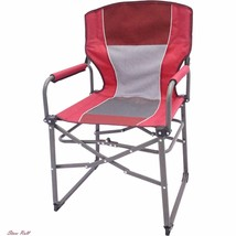 Camp Furniture Portable Directors Chair Outdoor Hiking Backpacking Safet... - $36.94
