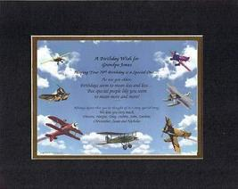 Personalized Touching and Heartfelt Poem for Birthday - A Birthday Wish for [Gra - $22.72