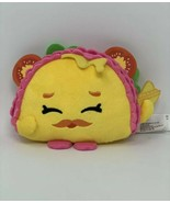 """Shopkins Plush Taco Terrie 6"""" Soft Stuffed Toy Just Play Mustache Tomato... - $8.44"""