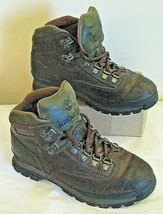 Timberland Womens Size 7.5 M Hiking Boots 95310 Ankle Lace up Dark Brown... - $46.52