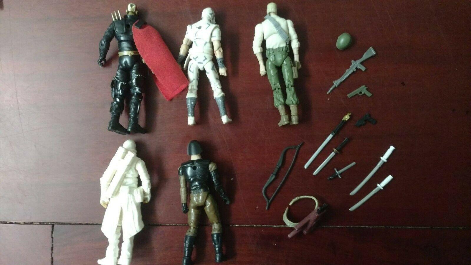 G. I. Joe Assorted Figures Lot 4