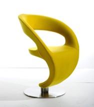 VIG Modrest Alya Modern Gold Fabric Lounge Chair Contemporary - $739.00