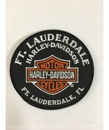 HARLEY DAVIDSON  FT LAUDERDALE EMBROIDERED PATCH - $19.55
