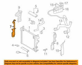 Radiator Side Cover RH for MERCEDES S55 AMG S500 S430 S350 2205050288 GE... - $27.67