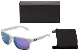 Oakley Holbrook Polarized Sunglasses - O09102-05 Matte White | Violet - $69.95