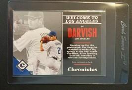 Yu Darvish 2017 Panini Chronicles Baseball #80 LA Dodgers Texas Rangers Cubs MLB - $0.94
