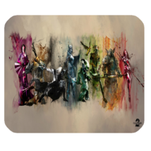 Mouse Pads Guild Wars 2 Online Role Playing Game Anime Elegant Battle Mousepads - $6.00