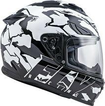XS Fly Racing Sentinel Ambush Motorcycle Helmet Camo/Black/White DOT & ECE  image 5
