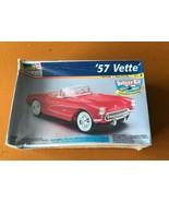 '57 VETTE CORVETTE Monogram REVELL 1:24 Mode Deluxel Kit 85-6669 - $16.83