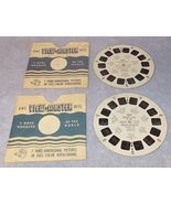 Sawyer's View Master Baseball Stars of the Major Leagues USA Reels 725 727  - $9.95