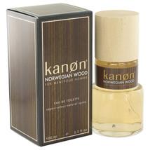 Norwegian Wood by Kanon Eau De Toilette  3.3 oz, Men - $14.30