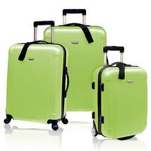 Traveler's Choice Green Freedom Hardside Lightweight Rolling Luggage Spi... - $133.64
