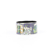 Hermes Printed Enamel Extra Wide 65 Bracelet - $505.00