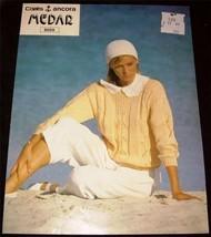 Medar Lady's Sweater Knitting  Pattern 6059 - $2.99