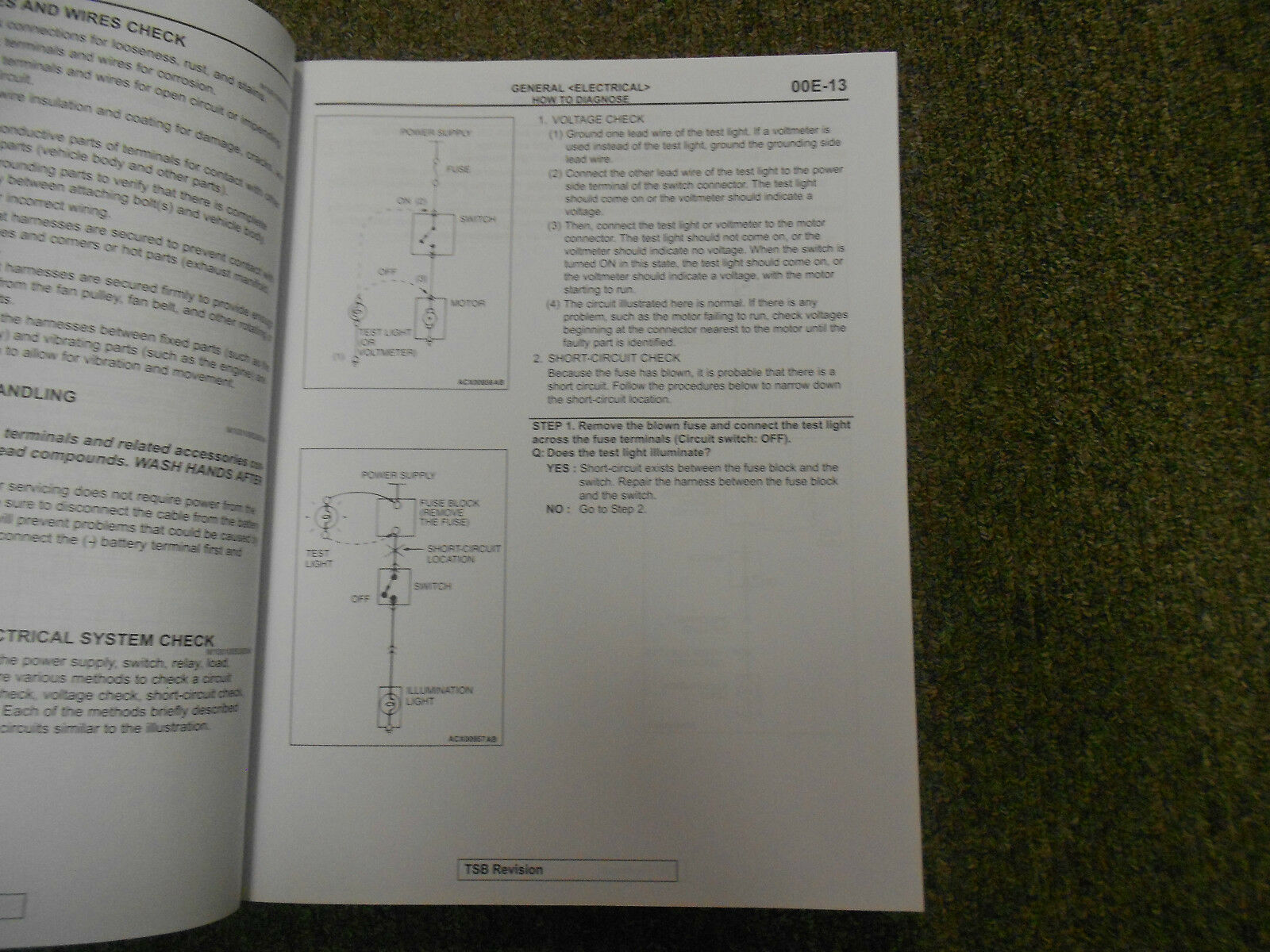 2010 MITSUBISHI Lancer Evolution Electrical Supplement Service Repair Manual FEO