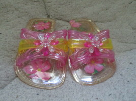 Toddler Girls Princess Crystal slippers size 5 - 7.5 Brand New - $5.00