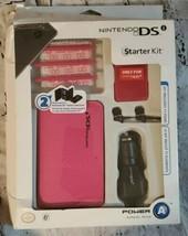 Nintendo DSi - Bundle - Starter Kit Pink - $12.59