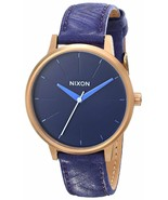 """NWT Nixon Women's """"Kensington"""" Stainless Steel Watch with Leather Band - $59.35"""