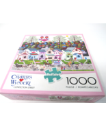 Charles Wysocki Confection Street  Jigsaw Puzzle  Buffalo Games Brand Ne... - $21.77