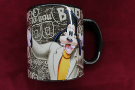 Disney GOOFY Boo To You Halloween Parade Black Coffee Mug - $15.84