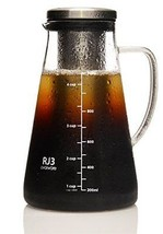 Airtight Cold Brew Iced Coffee Maker and Tea Infuser with Spout 1.0L 34o... - €43,00 EUR