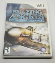 Blazing Angels: Squadrons of WWII (Nintendo Wii, 2007) USED FREE USA SHI... - $9.89