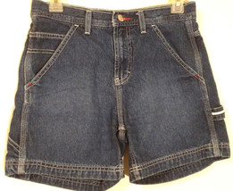 TOMMY HILFIGER RN 66476 - Vintage Denim Blue Jean Carpenter Shorts - Junior's: 3 - $29.45