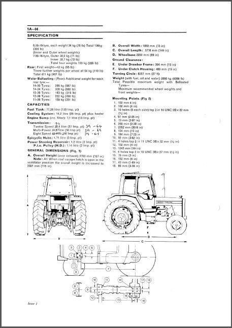 Massey Ferguson MF 675 690 698 Tractor and 21 similar items