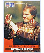 BILL BELICHICK ROOKIE!! 1991 PRO SET #126 SET BREAK SUPER-BOWL COACH PAT... - $99.95