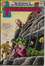 Tomahawk #90 1963-DC-horror cover & story-dinosaur-FN+ - $60.53