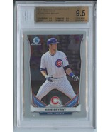 KRIS BRYANT RC (Graded BGS 9.5) 2014 Bowman Chrome Draft Top Prospects #... - $23.99
