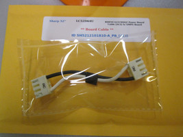 "Sharp 52"" LC52D64U RDENCA231WJQZ Power Board Cable [Aci] To Smps Board - $14.95"