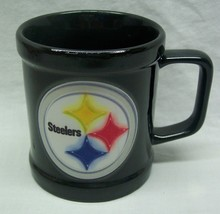 "Pittsburgh Steelers NFL FOOTBALL 3"" CERAMIC DRINKING MUG CUP - $14.85"
