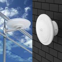 Amplified Outdoor Tv Antenna 360 Degrees Waterproof Hdtv Digital Hd Vhf ... - $40.49
