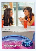 Paula Abdul and Kara DioGuardi trading card (Singer) 2009 Upper Deck Ame... - $4.00