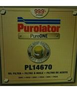 Purolator Pure One Oil Filter PL14670 - $12.17