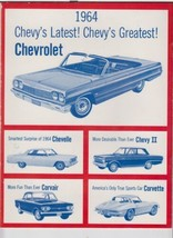 1964 Sing of the USA With Chevrolet Songbook - $4.00