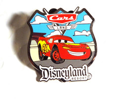 Disneyland Resort Disney Pin Trading Lightnin McQueen Cars Land Pixar Tr... - $9.99