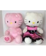 Build A Bear Hello Kitty Sanrio Limited Edition Pink White Stuffed Plush... - $59.39