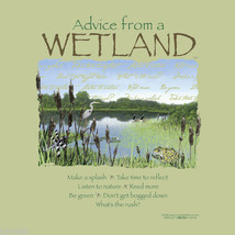 Wetland Sweatshirt S M XL Advice Nature Sweatshirt NWT - $25.25