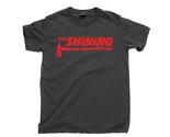 The Shining T Shirt, Here's Johnny Redrum Horror Movies Unisex Cotton Tee Shirt