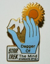 Classic Star Trek TV Series 9th Aired Episode Dagger of the Mind Metal P... - $11.64